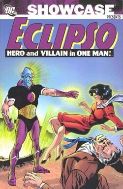 Cover for the Showcase Presents: Eclipso Trade Paperback