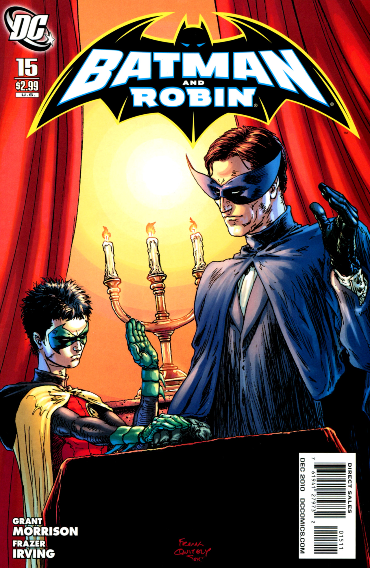 Batman and Robin: Batman and Robin Must Die | DC Database ...