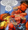 Kid Flash vs. Ravager