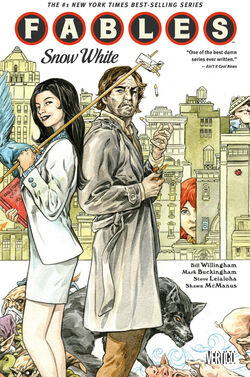 Cover for the Fables: Snow White Trade Paperback