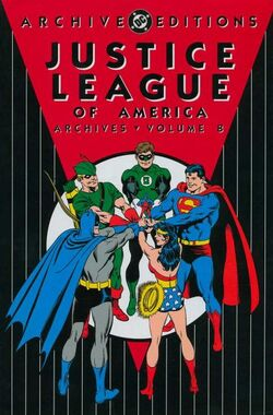Cover for the Justice League of America Archives Vol 8 Trade Paperback