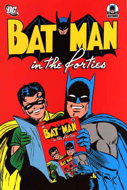 Cover for the Batman in the Forties Trade Paperback