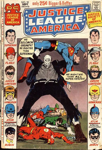 Top 5 Comic Book Monsters - Solomon Grundy