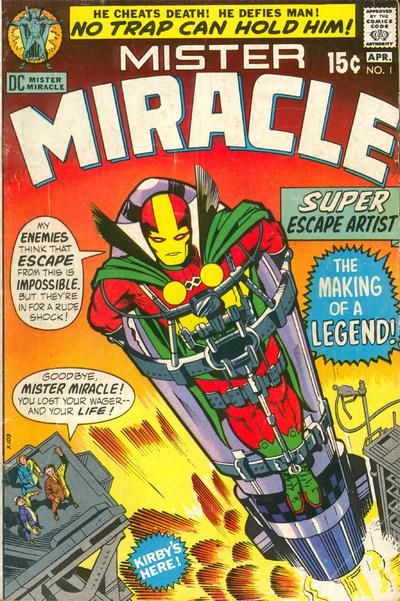 Image result for mister miracle #1