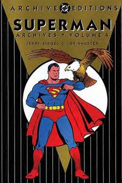 Cover for the The Superman Archives Vol. 4 Trade Paperback