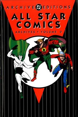 Cover for the All-Star Comics Archives Vol. 0 Trade Paperback