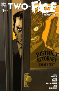 Two-Face Year One 1