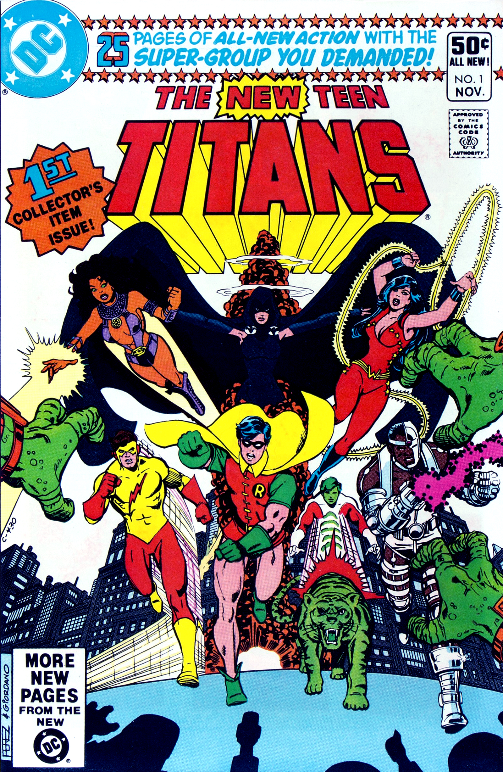 New Teen Titans  Dc Database  Fandom Powered By Wikia-3218