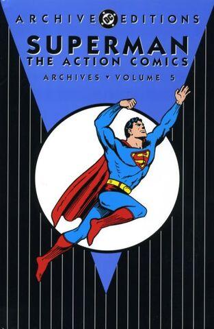 File:Action Comics Archives, Volume 5.jpg