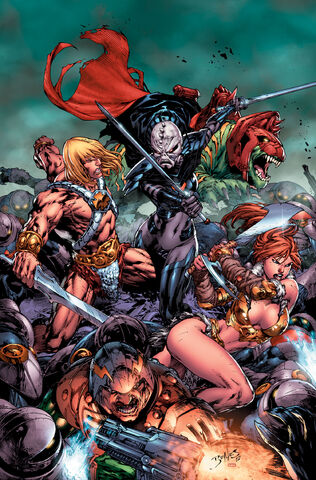File:He-Man and the Masters of the Universe Vol 2 1 Textless.jpg