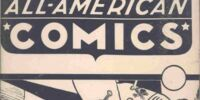 All-American Comics Vol 1 Ashcan