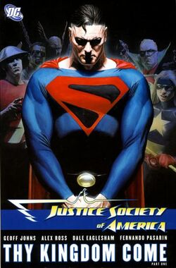 Cover for the Justice Society of America: Thy Kingdom Come, Part One Trade Paperback