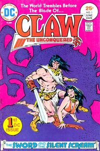 Claw the Unconquered Vol 1 1