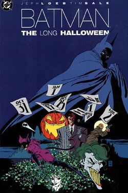 Cover for the Batman: The Long Halloween Trade Paperback