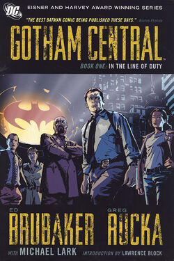 Cover for the Gotham Central Book One: In the Line of Duty Trade Paperback