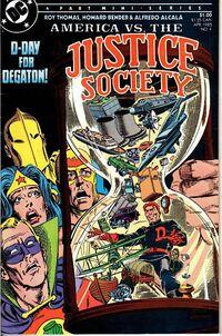 America vs the Justice Society Vol 1 4