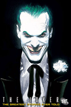 Cover for the Joker: The Greatest Stories Ever Told Trade Paperback