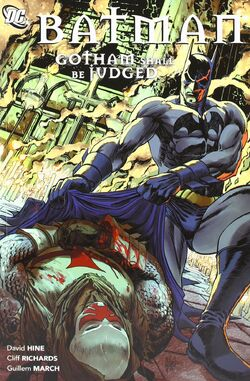 Cover for the Batman: Gotham Shall Be Judged Trade Paperback