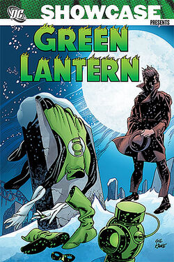 Cover for the Showcase Presents: Green Lantern Vol. 4 Trade Paperback
