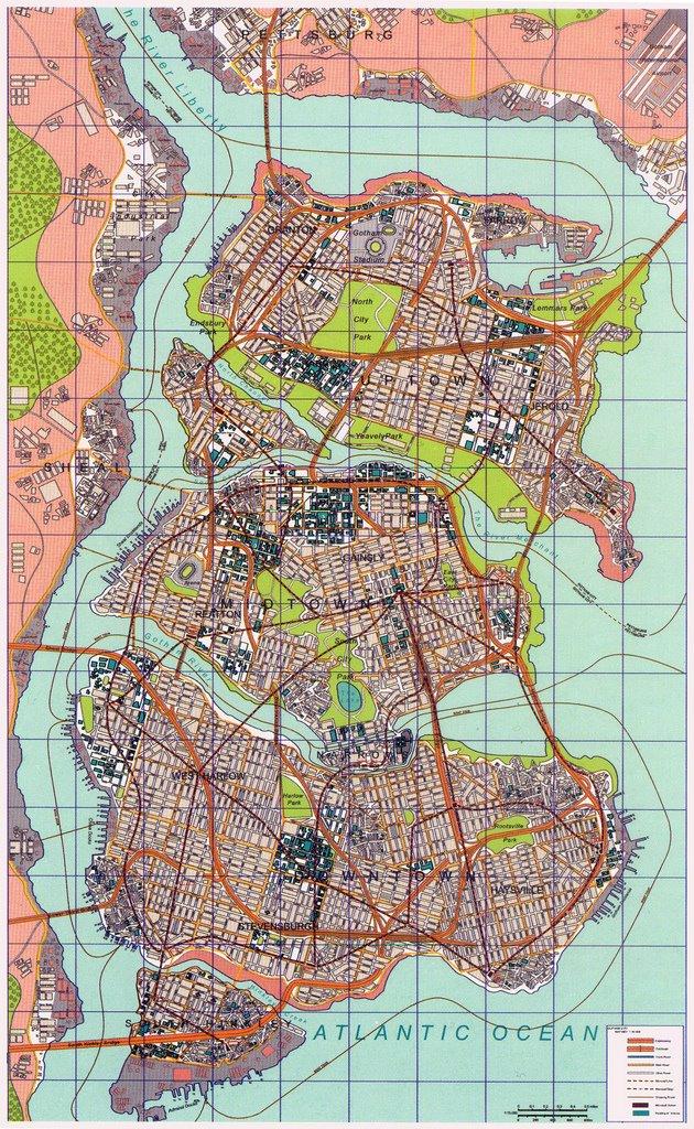 Image  Nolan Gotham Map731238jpg  DC Database  FANDOM powered