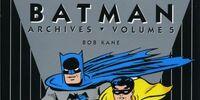 Batman Archives Vol 5 (Collected)