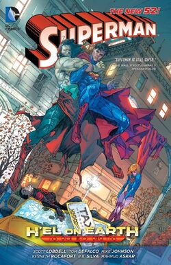 Cover for the Superman: H'el on Earth Trade Paperback