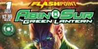 Flashpoint: Abin Sur - The Green Lantern/Covers
