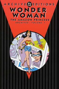 Cover for the Wonder Woman: The Amazon Princess Archives Vol. 1 Trade Paperback