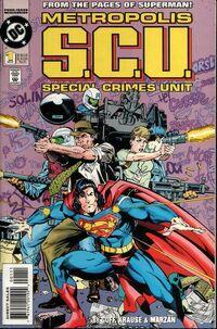 Metropolis S.C.U. Vol 1 1