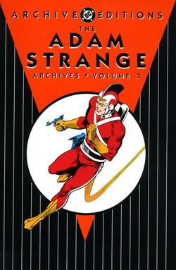 Cover for the The Adam Strange Archives Vol. 3 Trade Paperback