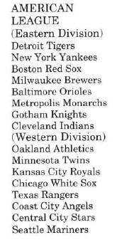 American League 01