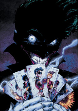 Cover for the Teen Titans: Death of the Family Trade Paperback