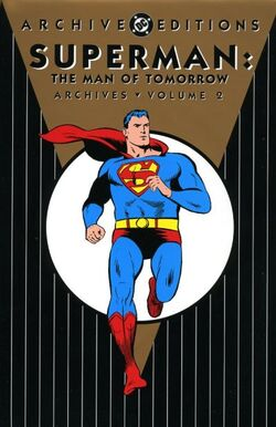 Cover for the Superman: The Man of Tomorrow Archives Vol. 2 Trade Paperback
