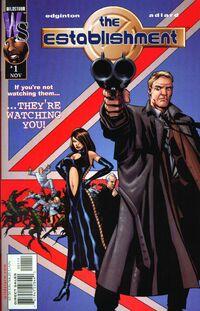The Establishment v1 1 cover