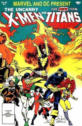 File:Marvel and DC Present Vol 1 1.jpg