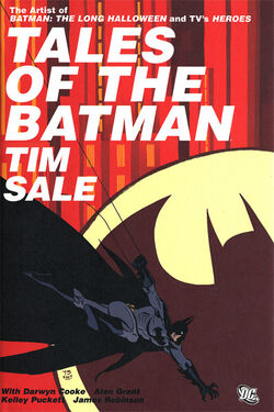 Cover for the Tales of the Batman: Tim Sale Trade Paperback