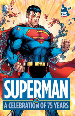 Cover for the Superman: A Celebration of 75 Years Trade Paperback
