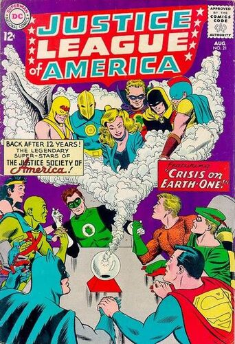 Image result for every pre-Crisis universe