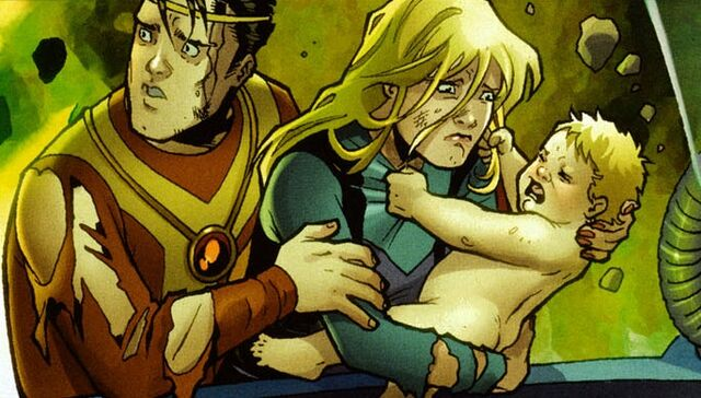 File:Zor-L, Alura and baby Kara (Earth-Two).jpg