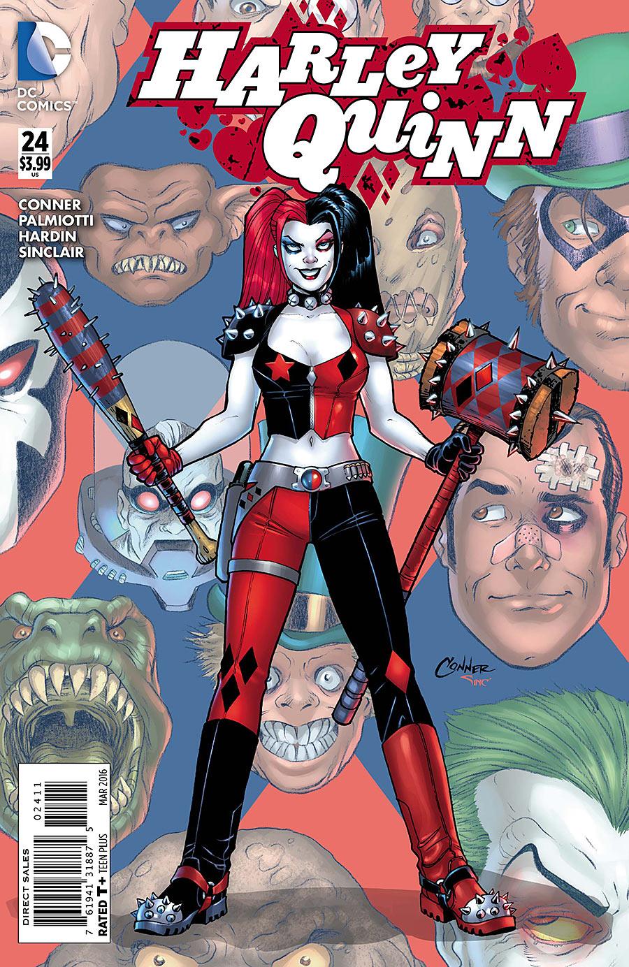 New 52 Harley Quinn And Joker Image - Harley Quinn V...
