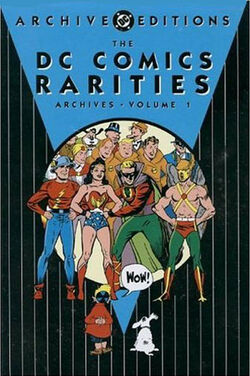 Cover for the The DC Comics Rarities Archives Vol. 1 Trade Paperback
