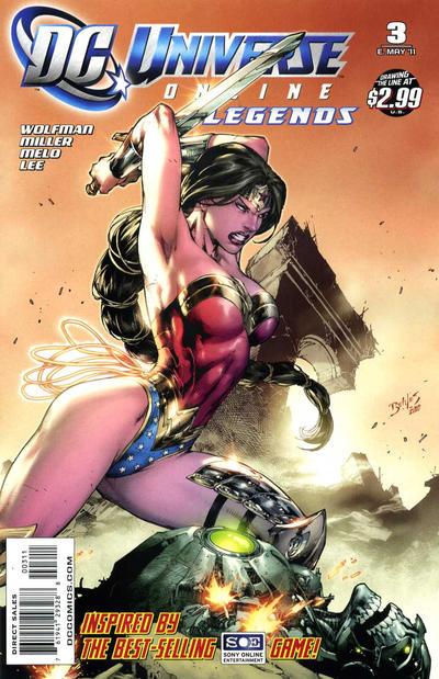 Resultado de imagem para DC UNIVERSE LEGENDS # 3