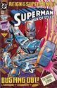 Superman - Man of Steel 22 Newstand edition