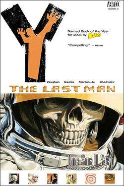 Cover for the Y: The Last Man: One Small Step Trade Paperback