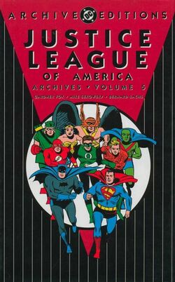 Cover for the Justice League of America Archives Vol 5 Trade Paperback