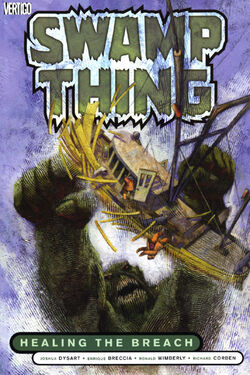 Cover for the Swamp Thing: Healing the Breach Trade Paperback