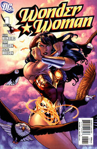 Wonder Woman v3 1 Cover