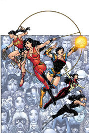 New Teen Titans Who is Donna Troy Textless