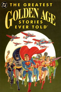 Cover for the Greatest Golden Age Stories Ever Told Trade Paperback