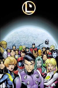Legion of Super-Heroes II 010